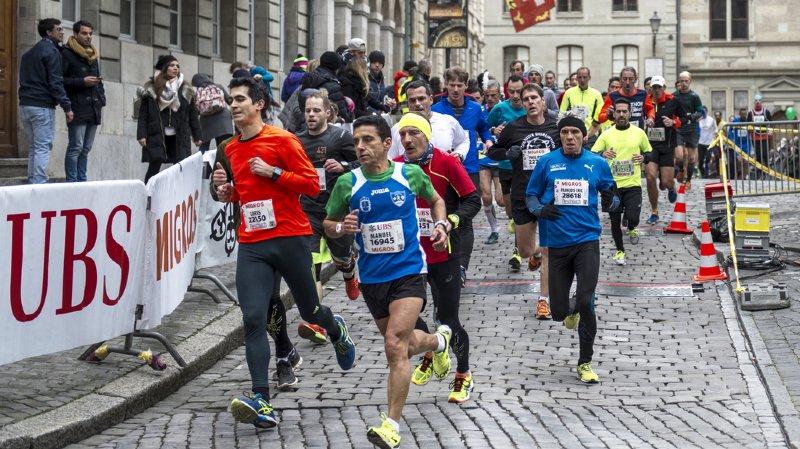 La course de l'Escalade à Genève a battu des records suisses, avec plus de 50'000 inscrits (archives).