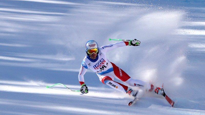 Ski alpin: Carlo Janka remonte sur ses skis cette semaine