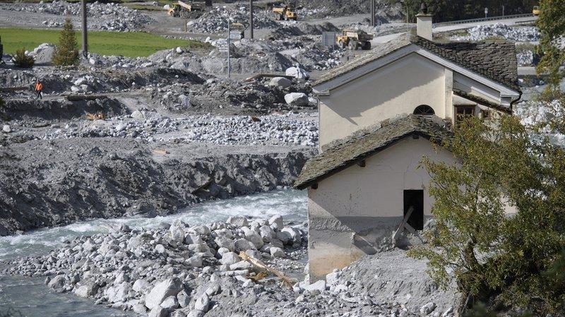 Eboulements de Bondo (GR): plus de 11,2 millions de francs récoltés en faveur de la commune
