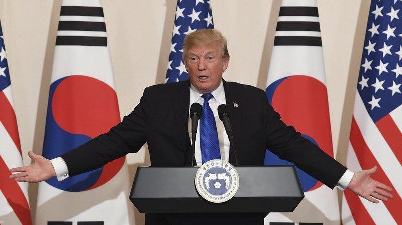 Péninsule coréenne: Trump appelle Kim Jong-Un à ne jamais sous-estimer les États-Unis