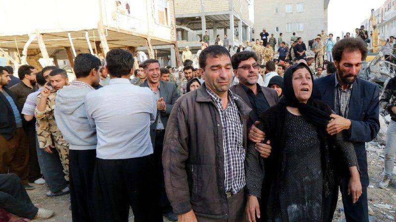 Catastrophe naturelle: un séisme de magnitude 7,3 fait plus de 400 morts en Iran et en Irak
