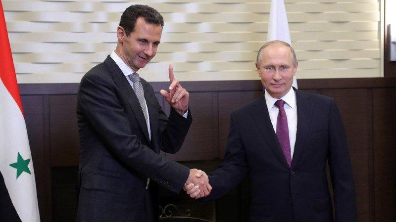 Vladimir Poutine et Bachar al-Assad se sont rencontrés à Sotchi pour discuter de l'avenir de la Syrie
