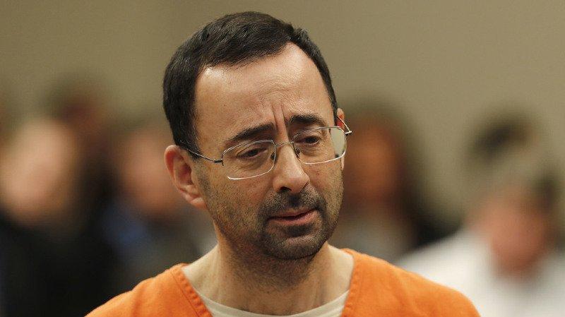 Dr. Larry Nassar a été condamné jeudi à 60 ans de prison.