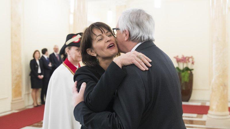 Diplomatie: Jean-Claude Juncker en Suisse pour parler des bilatérales
