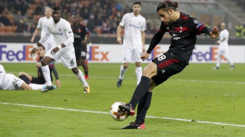 Europa League: Lucien Favre qualifie Nice, Rodriguez marque pour Milan