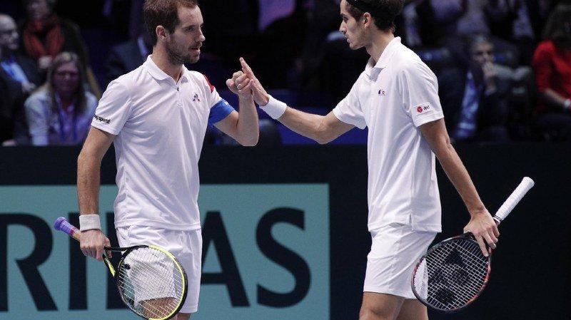Coupe Davis: la France remporte le double et mène 2-1 face à la Belgique
