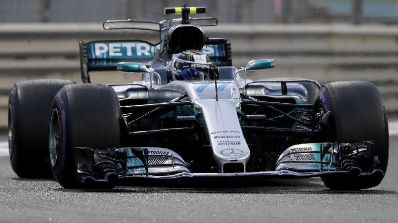 Valtteri Bottas et sa Mercedes ont fait la course en tête jusqu'au bout.