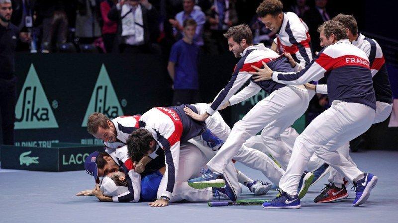 Coupe Davis: la France victorieuse 3-2 face à la Belgique