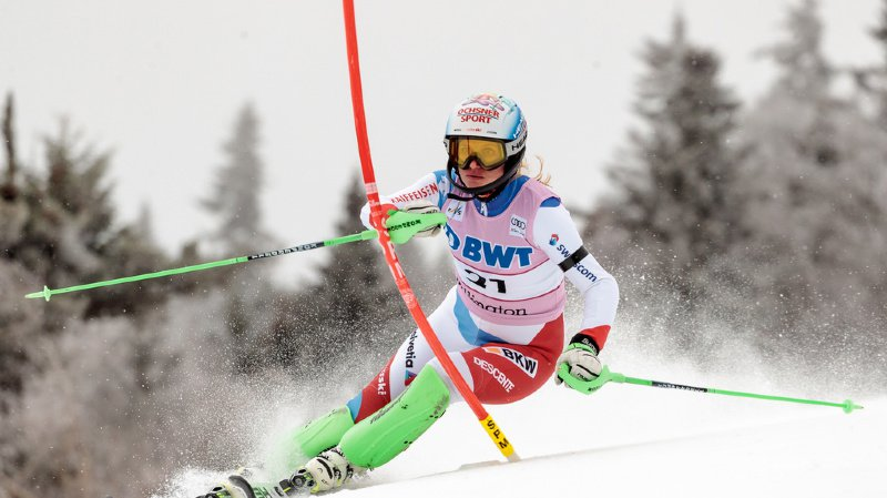 Ski alpin: Feierabend meilleure Suissesse du slalom de Killington (4e), Shiffrin l'emporte