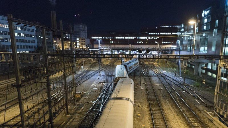 CFF: un train ICE déraille à Bâle, le trafic perturbé au moins jusqu'à jeudi