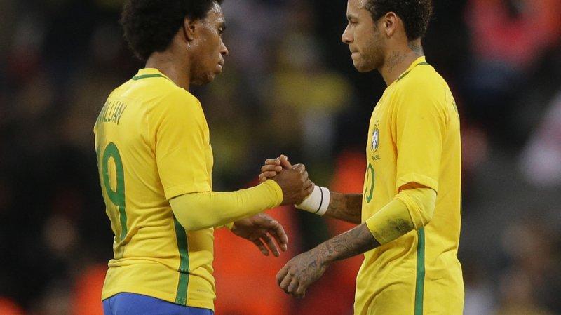 Mondial 2018: le Brésil, premier adversaire de la Suisse en Russie (1)