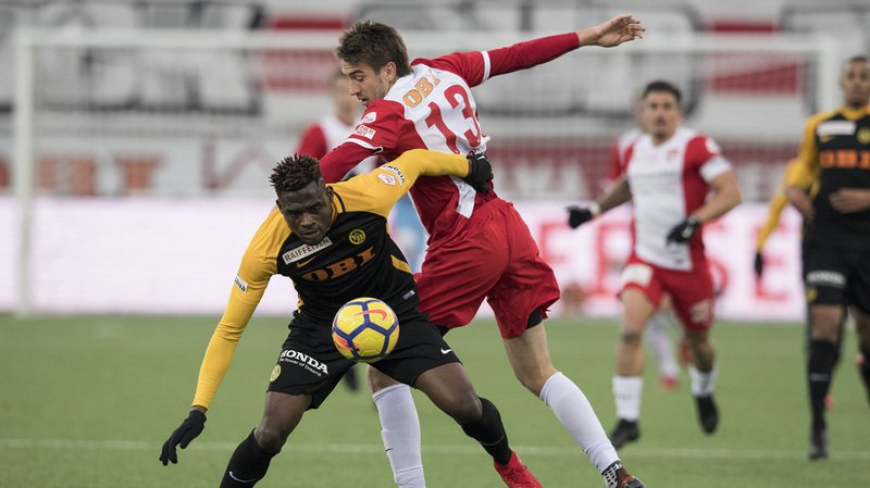 Football: Thoune a battu son rival cantonal Young Boys 3-1 lors de la 17e journée de Super League