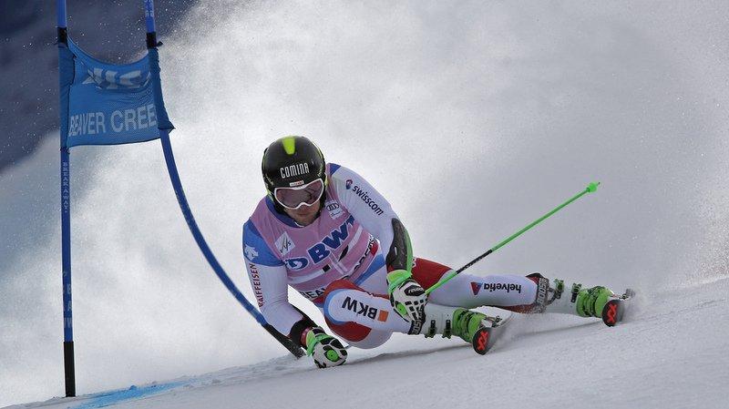 Ski alpin: Murisier et Meillard respectivement quatrième et huitième après la première manche du géant de Beaver Creek