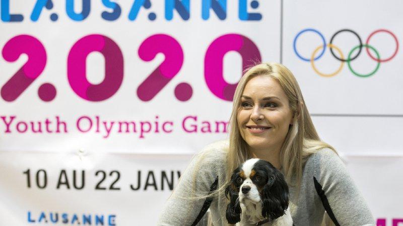 JOJ 2020 à Lausanne: Lindsey Vonn nommée ambassadrice