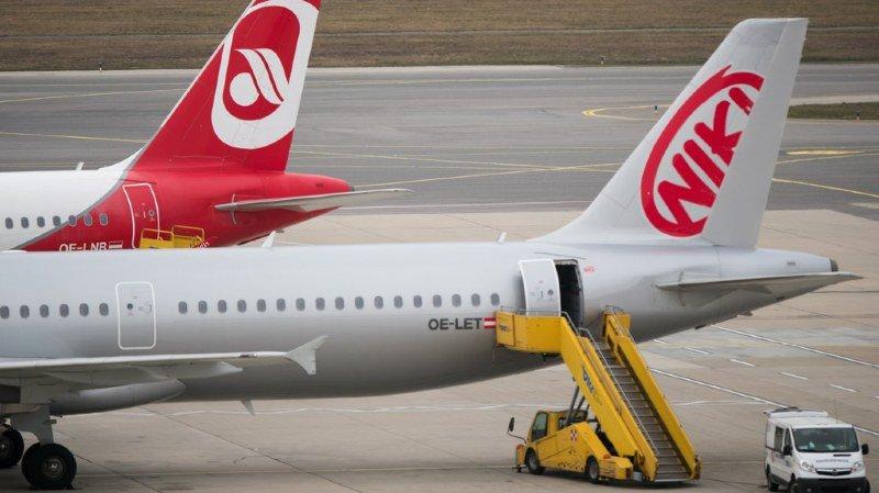 Lâchée par Lufthansa, la compagnie aérienne autrichienne Niki annonce l'arrêt de ses vols