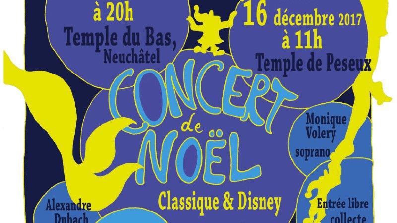 Concert de Noël : Classique & Disney