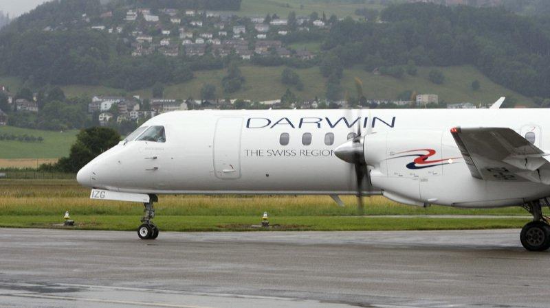 Aviation: la compagnie aérienne tessinoise Darwin Airline est en faillite