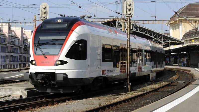 Bagarre dans un train près de Lausanne: deux mineurs arrêtés