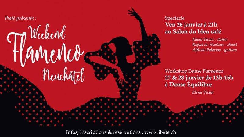 Week-end Flamenco avec Elena Vicini