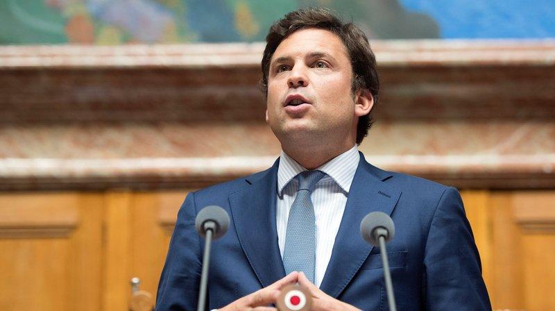 Guillaume Barazzone, conseiller national PDC genevois, est inquiet des conséquences économiques que pourrait engendrer l'initiative.