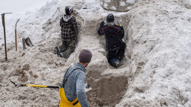 La Chaux-de-Fonds: Imagineige surfe sur le vent d'hiver