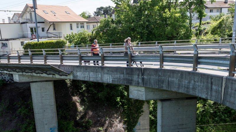 1,4 million demandés pour le pont de Bellevue