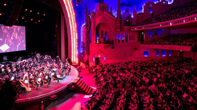 Au Grand Rex, les plus grands airs des jeux vidéo ont été interprétés par un orchestre symphonique de 60 musiciens.