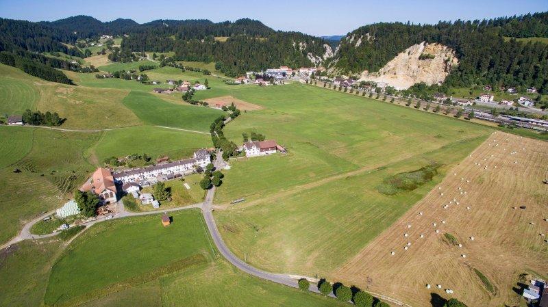 Le Locle: le groupe Rolex entend construire au Col-des-Roches