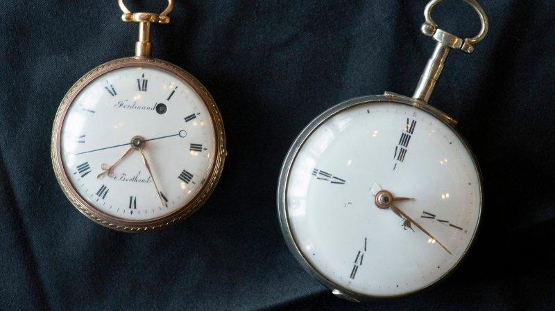 Une montre de Benjamin Franklin acquise par le MIH en 2016.
