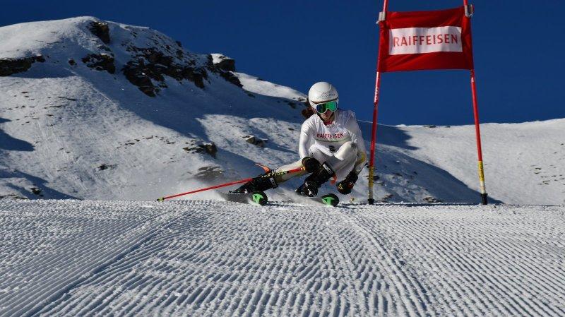 Léa Friche et ses amis du Giron jurassien ont déjà pu s'entraîner pendant sept journées dans les Alpes.