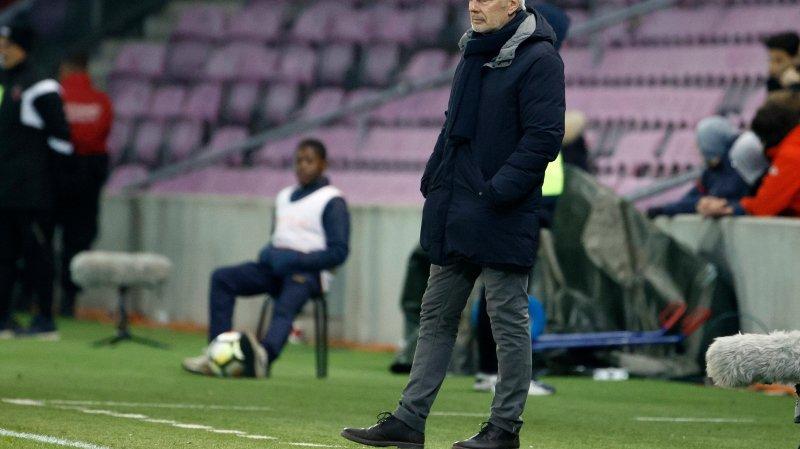 Michel Decastel attend de ses joueurs plus d'agressivité et ce dès la première minute.
