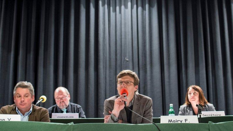 Grand argentier, Frédéric Mairy (ici en 2015) a pu compter sur le soutien de la quasi-totalité des élus lundi soir.