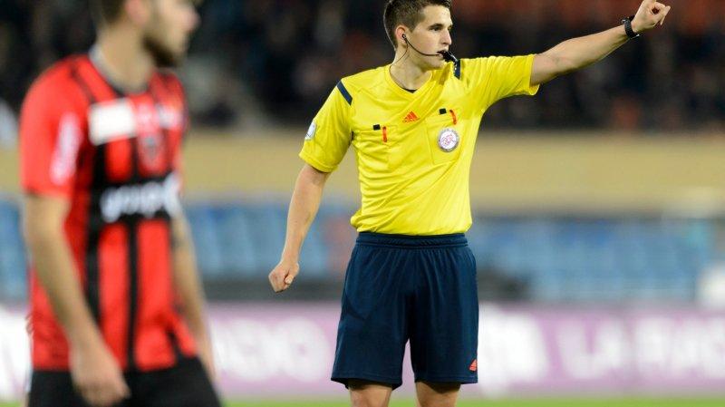 Lionel Tschudi, arbitre Fifa  et semi-professionnel