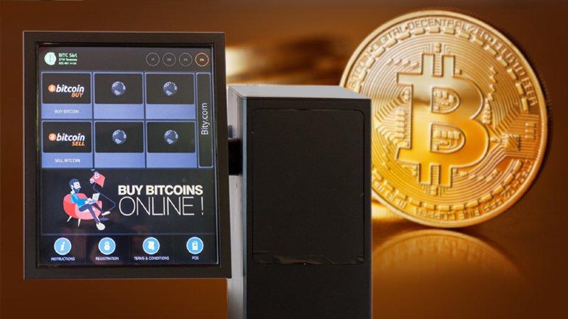 Un distributeur de bitcoins au Locle: l'avis d'un spécialiste
