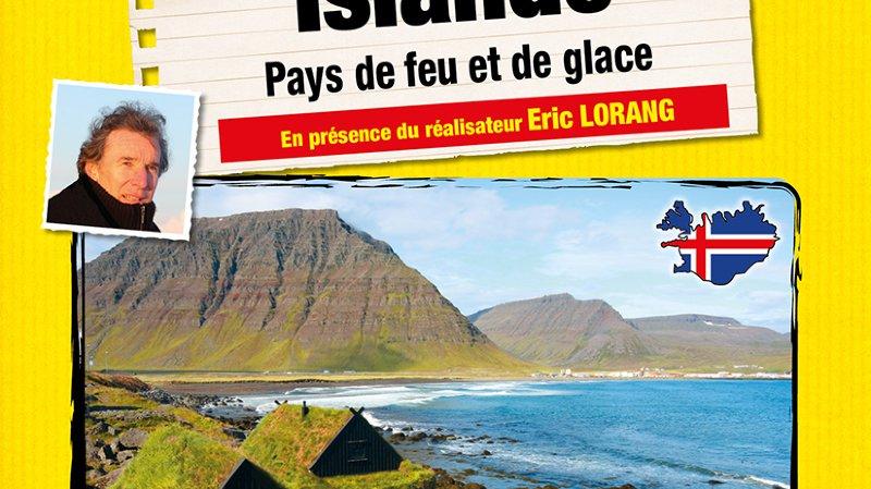 Ciné-conférence: Islande par Eric Lorang