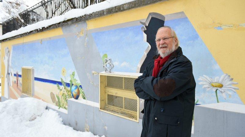 L'artiste Carol Gertsch raconte comment La Chaux-de-Fonds a pris de la couleur