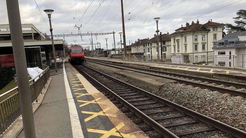 Un adolescent mortellement happé par le train près de la gare de Rolle