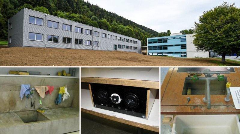 Val-de-Ruz: des salles de science à 1,1 million de francs à la Fontenelle