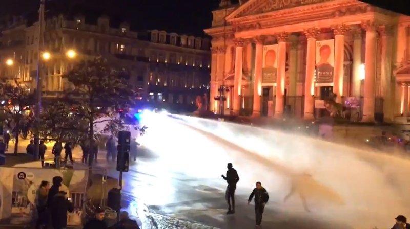 Mondial 2018: 22 policiers blessés à Bruxelles après des échauffourées