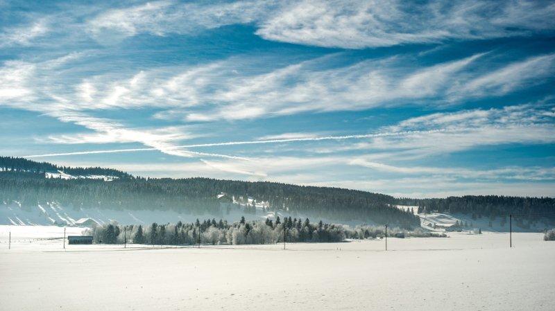 La Sibérie de la Suisse.  Photo: Christian Galley