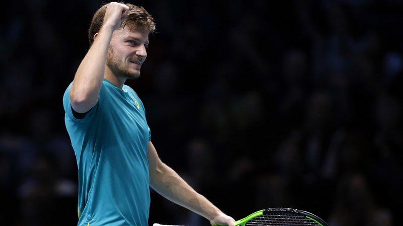 """David Goffin: """"Jouer contre Roger Federer, sur dur en indoor, c'est le défi ultime actuellement"""""""