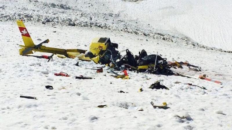 Le pilote, seul à bord, était mort dans l'accident.