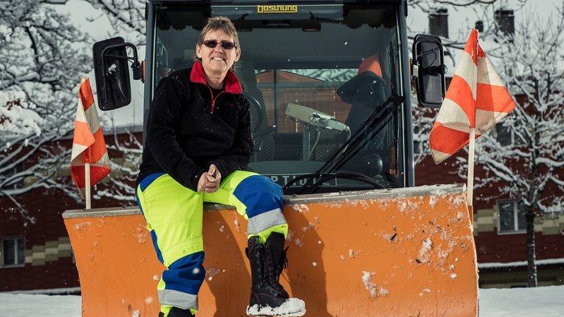 La Chaux-de-Fonds: la reine des chasse-neige, c'est elle!