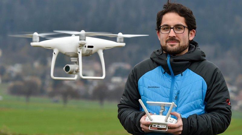 «Le drone apporte un plus», dit le Neuchâtelois Lucas Vuitel