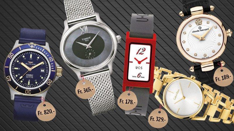 Au total, plusieurs centaines de montres répondent aux deux critères de départ.