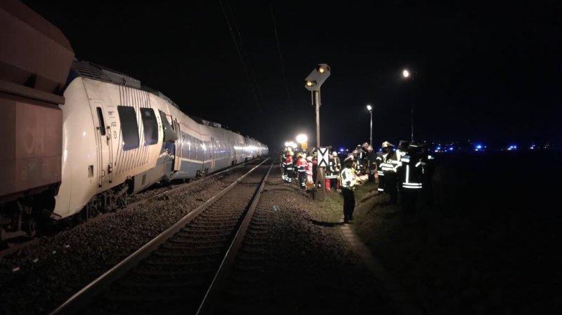 Allemagne: une collision entre deux trains fait 5 blessés près de Düsseldorf