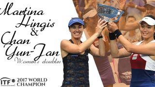 Tennis: les Espagnols Nadal et Muguruza champions du monde en simple, Hingis et Yun-Jan en double
