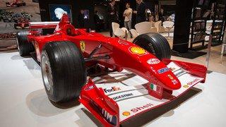 Formule 1: une Ferrari pilotée par Michael Schumacher vendue pour 7,5 millions