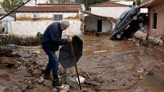 Grèce: inondations mortelles près d'Athènes