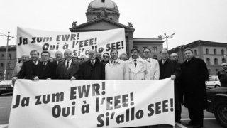 Le 6 décembre 1992, les Suisses disent non à l'EEE